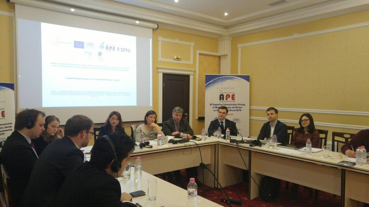 Roundtable discussion in Chisinau