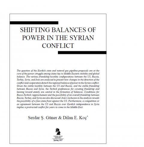 Article by CENS intern in Turkish Policy Quarterly | Center for